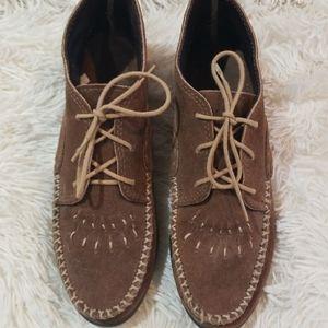 Minnetonka Suede Chukka boots
